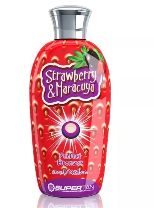 SuperTan Strawberry and Maracuya 200ml Клубника и Маракуйя с ANTY-AGE эффектом